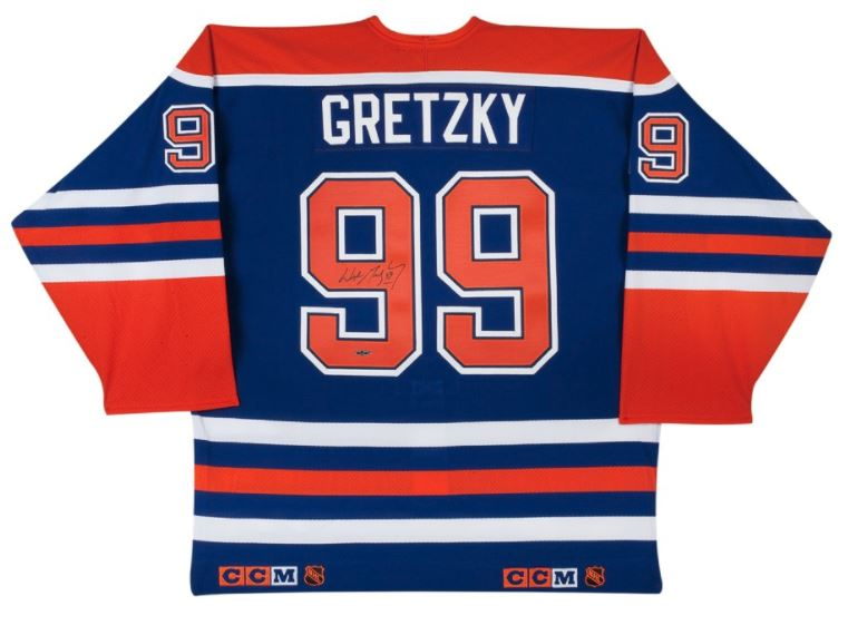 check out f348b 13dda Wayne Gretzky Edmonton Oilers Autographed Pro Jersey