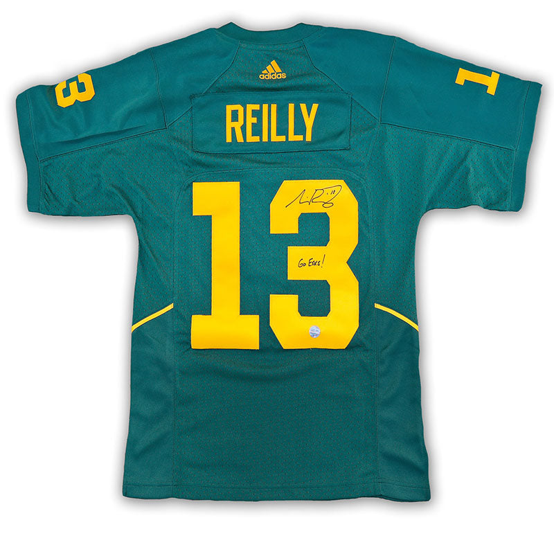 Mike Reilly Edmonton Eskimos Autographed Alternate Replica Jersey