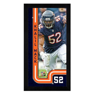 Khalil Mack Chicago Bears Mini Frame