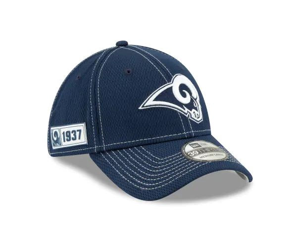 Los Angeles Rams Youth New Era 39Thirty 2019 NFL Sideline Cap