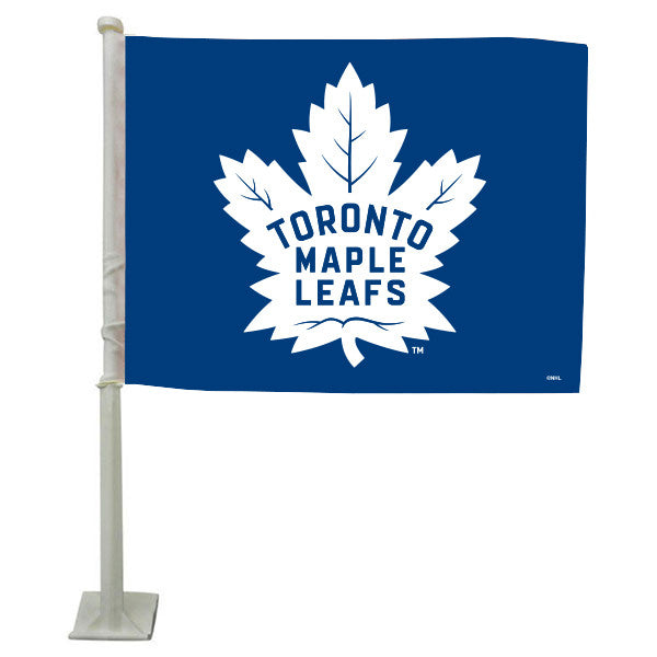 Toronto Maple Leafs Car Flag