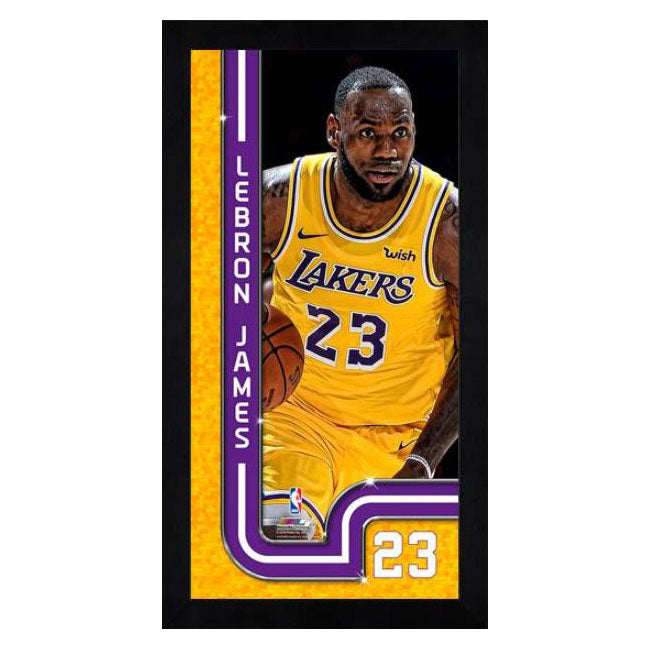 Lebron James Los Angeles Lakers Mini Frame