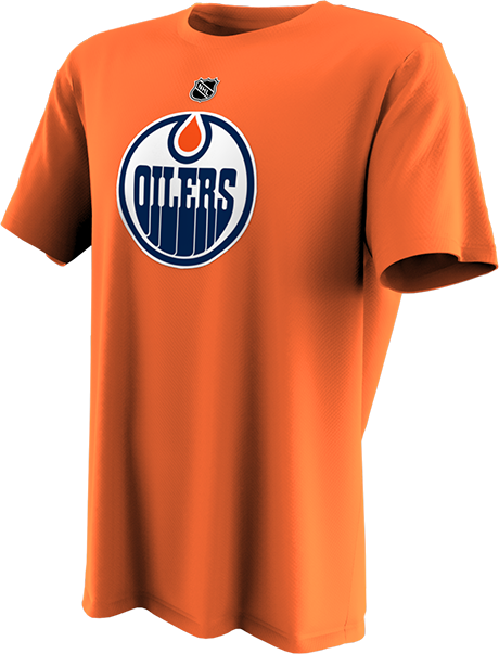 Infant Connor McDavid Edmonton Oilers Name & Number Tee
