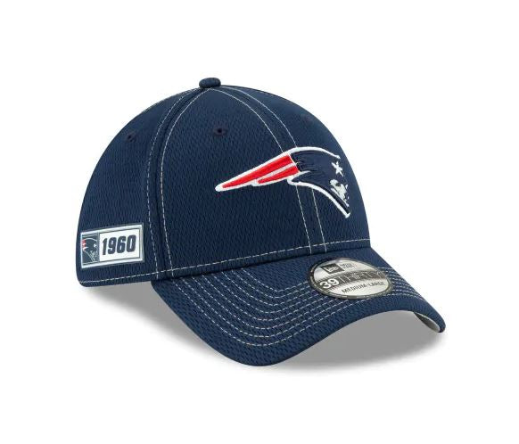 New England Patriots New Era 39Thirty 2019 NFL Sideline Cap