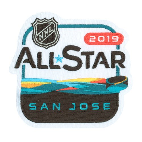San Jose 2019 NHL All Star Game Jersey Patch