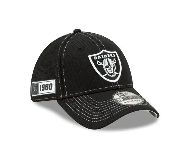 Oakland Raiders New Era 39Thirty 2019 NFL Sideline Cap