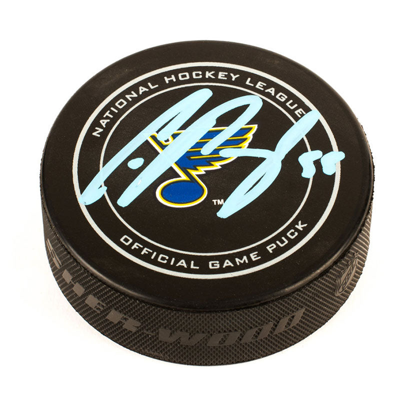 Colton Parayko St. Louis Blues Autographed Official NHL Game Puck
