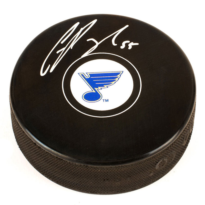 Colton Parayko St. Louis Blues Autographed Puck