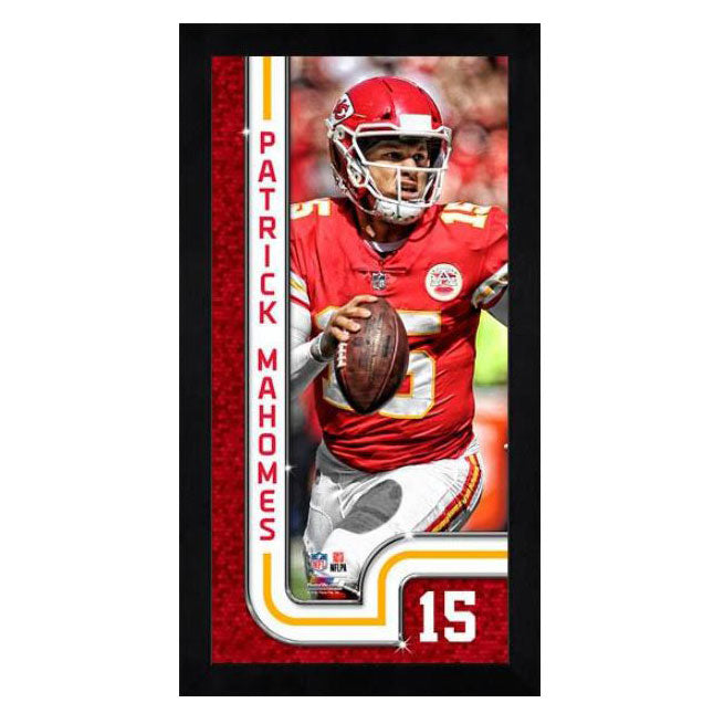 Patrick Mahomes Kansas City Chiefs Mini Frame