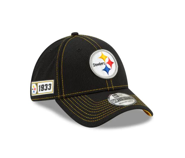 Pittsburgh Steelers New Era 39Thirty 2019 NFL Sideline Cap