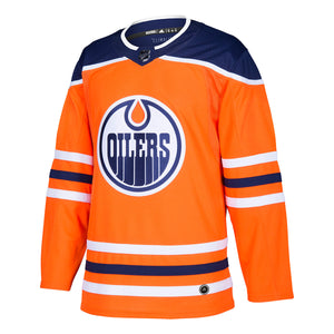 Ethan Bear Cree Edmonton Oilers NHL adidas Authentic Pro Home Jersey with On Ice Cresting