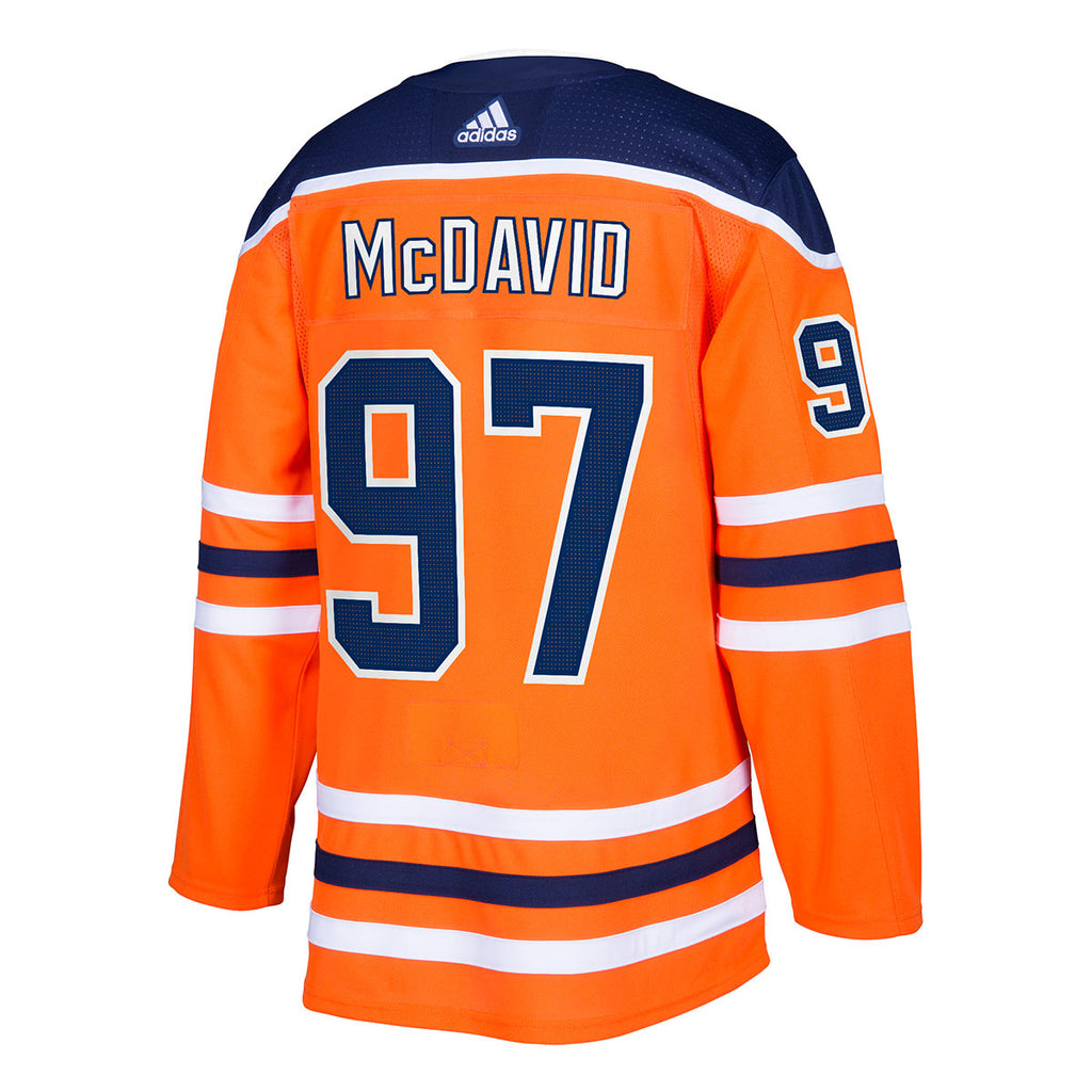 Connor McDavid Edmonton Oilers NHL Authentic Pro Home Jersey