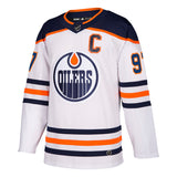 Connor McDavid Edmonton Oilers NHL Authentic Pro Road Jersey
