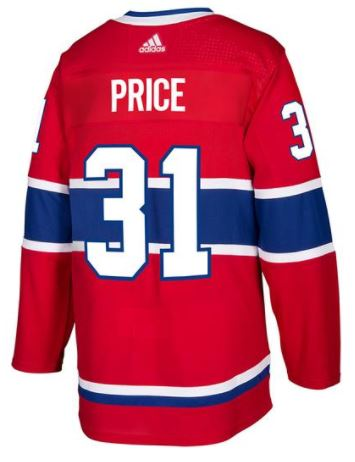 100% authentic 217af b9658 ... Carey Price Montreal Canadiens NHL Authentic Pro Home Jersey ...