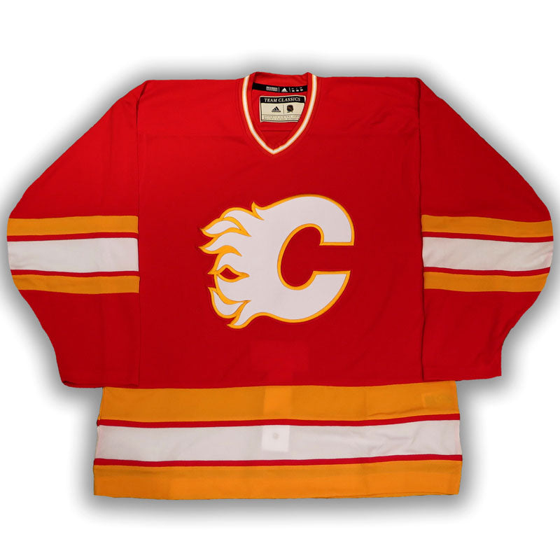 Calgary Flames Vintage Authentic Pro Red Jersey
