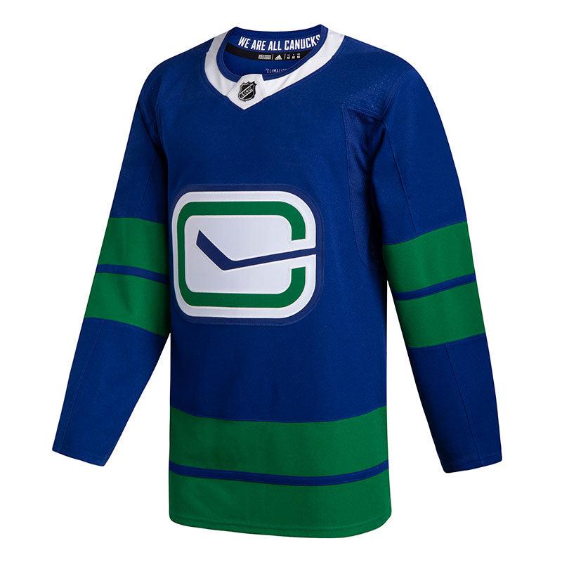 Vancouver Canucks NHL Authentic Pro Third Jersey