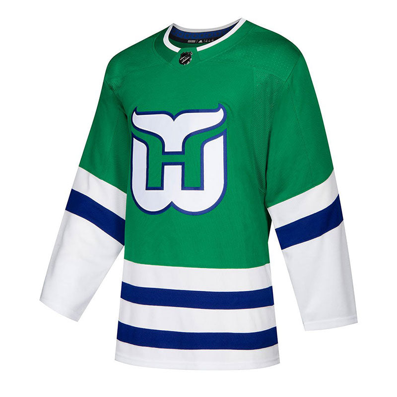 Carolina Hurricanes NHL Authentic Pro Heritage Whalers Jersey