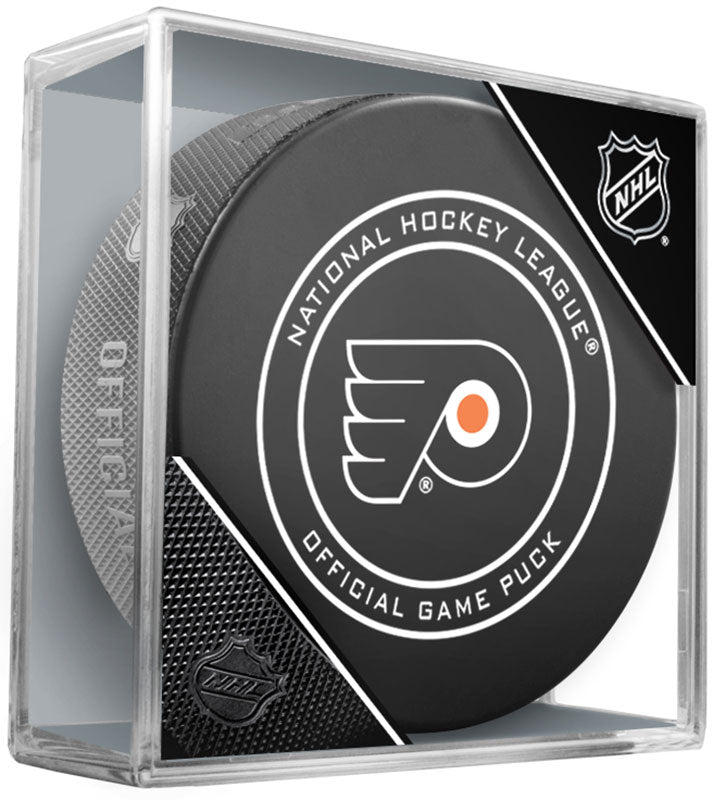 Philadelphia Flyers Official NHL Game Puck