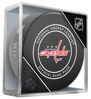 Washington Capitals Official NHL Game Puck