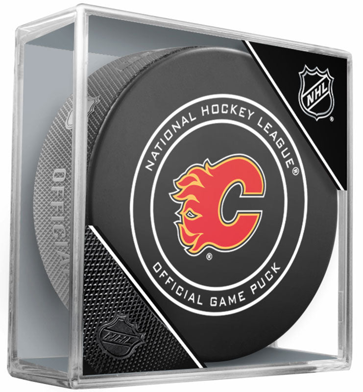 Calgary Flames Official NHL Game Puck