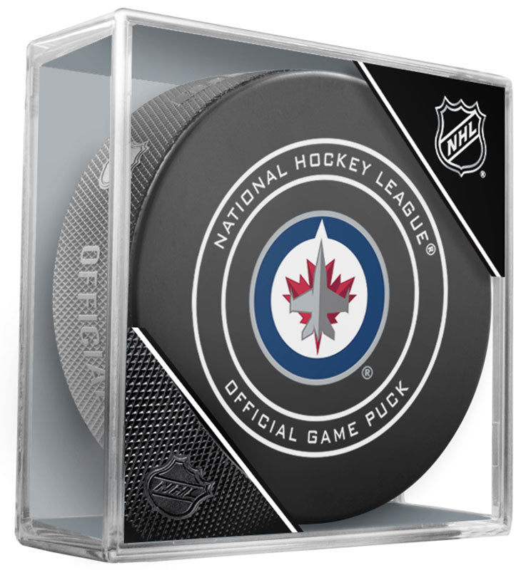 Winnipeg Jets Official NHL Game Puck