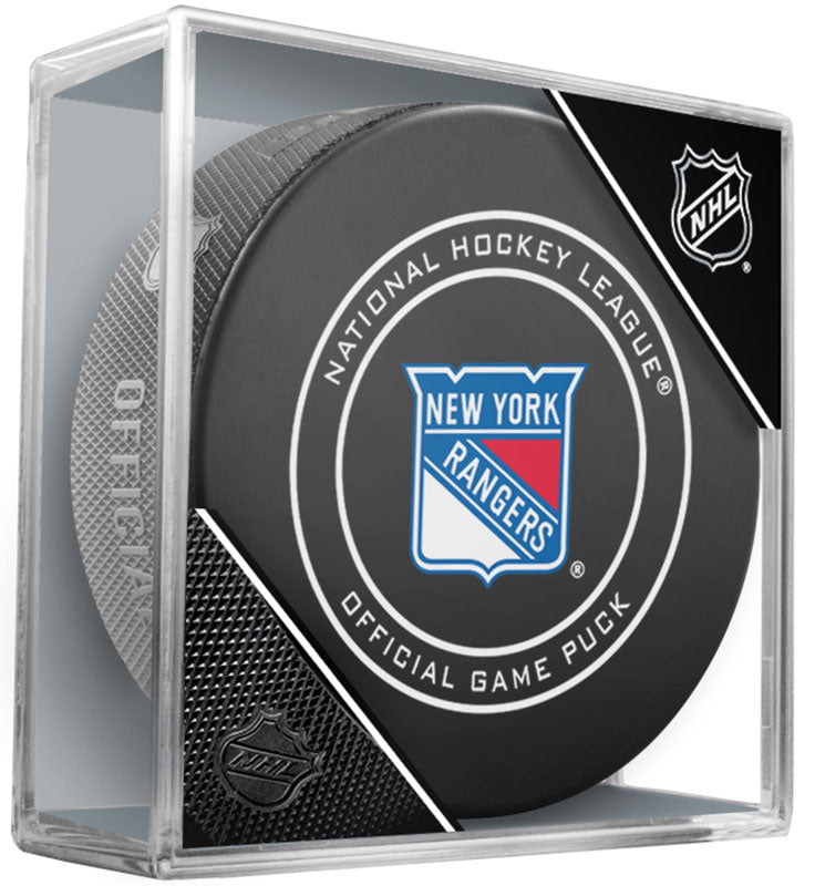 New York Rangers Official NHL Game Puck