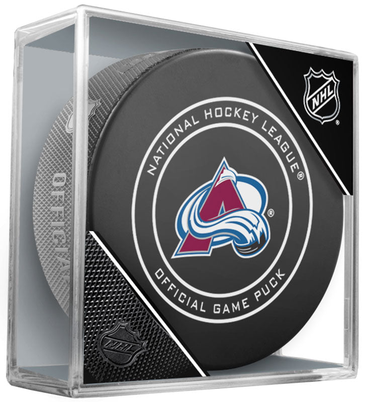 Colorado Avalanche Official NHL Game Puck