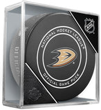 Anaheim Ducks 2017-18 Official NHL Game Puck