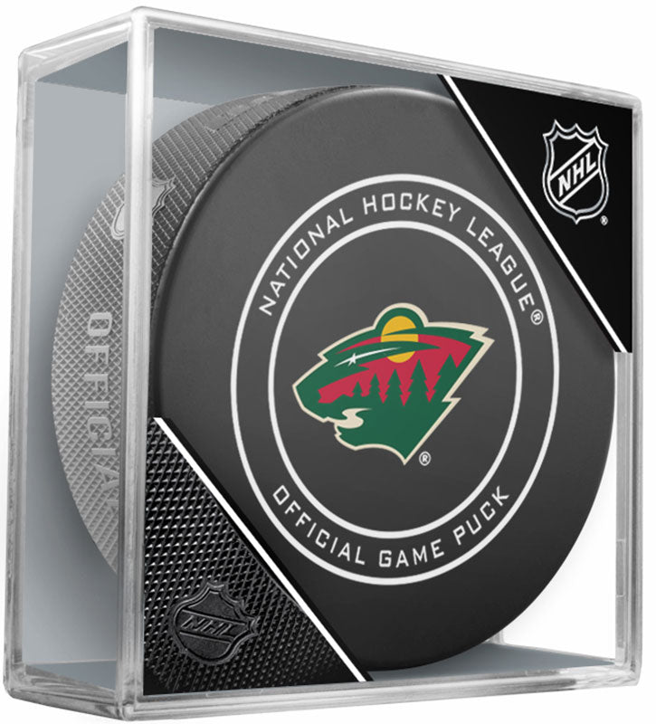 Minnesota Wild 2017 18 Official NHL Game Puck