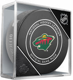 Minnesota Wild 2017-18 Official NHL Game Puck