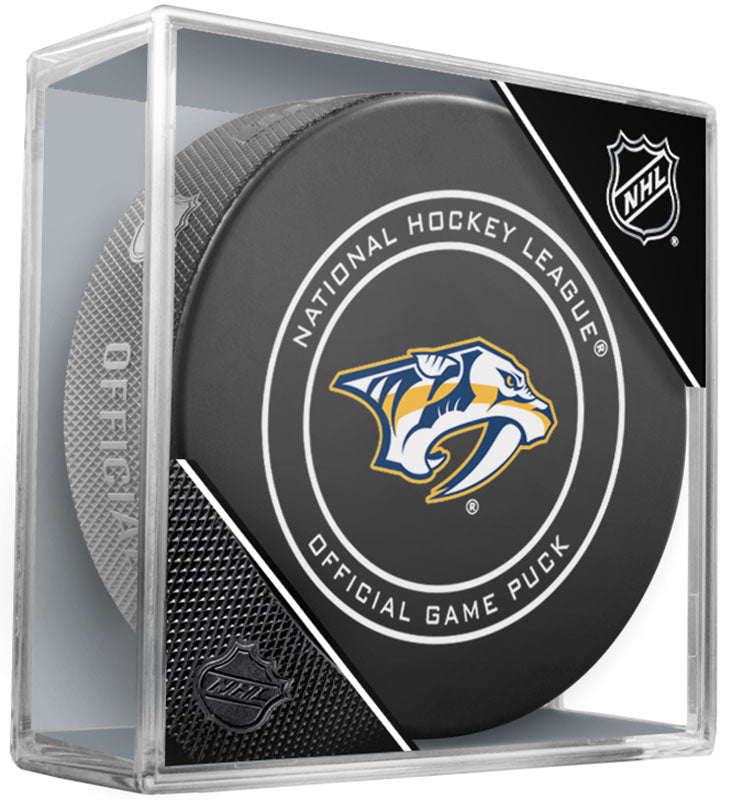 Nashville Predators Official NHL Game Puck