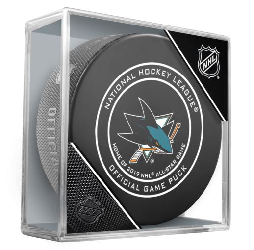 San Jose Sharks Official NHL Game Puck