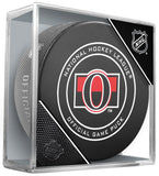 Ottawa Senators Official NHL Game Puck