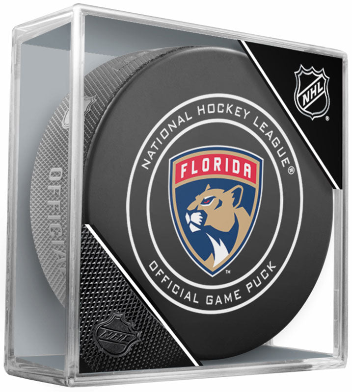 Florida Panthers 2017-18 Official NHL Game Puck