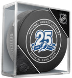 Tampa Bay Lightning 25th Anniversary 2017-2018 Official NHL Game Puck