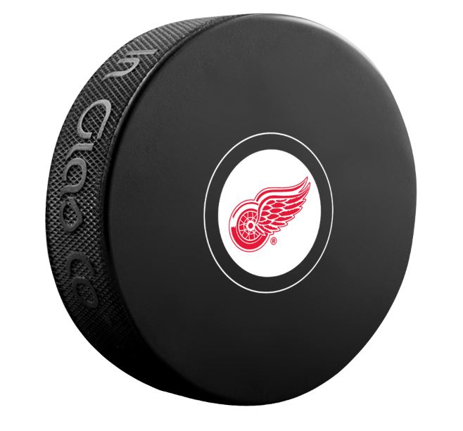Detroit Red Wings Unsigned Puck