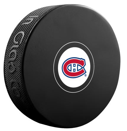 Montreal Canadiens Unsigned Puck