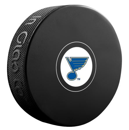 St. Louis Blues Unsigned Puck