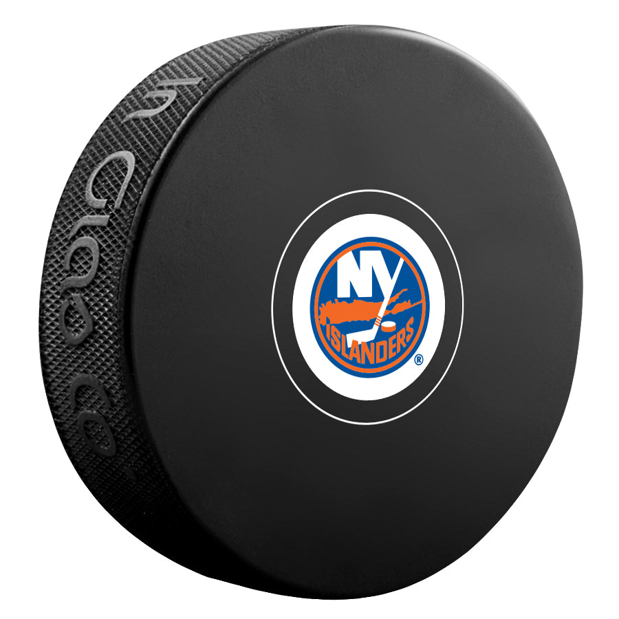 New York Islanders Unsigned Puck