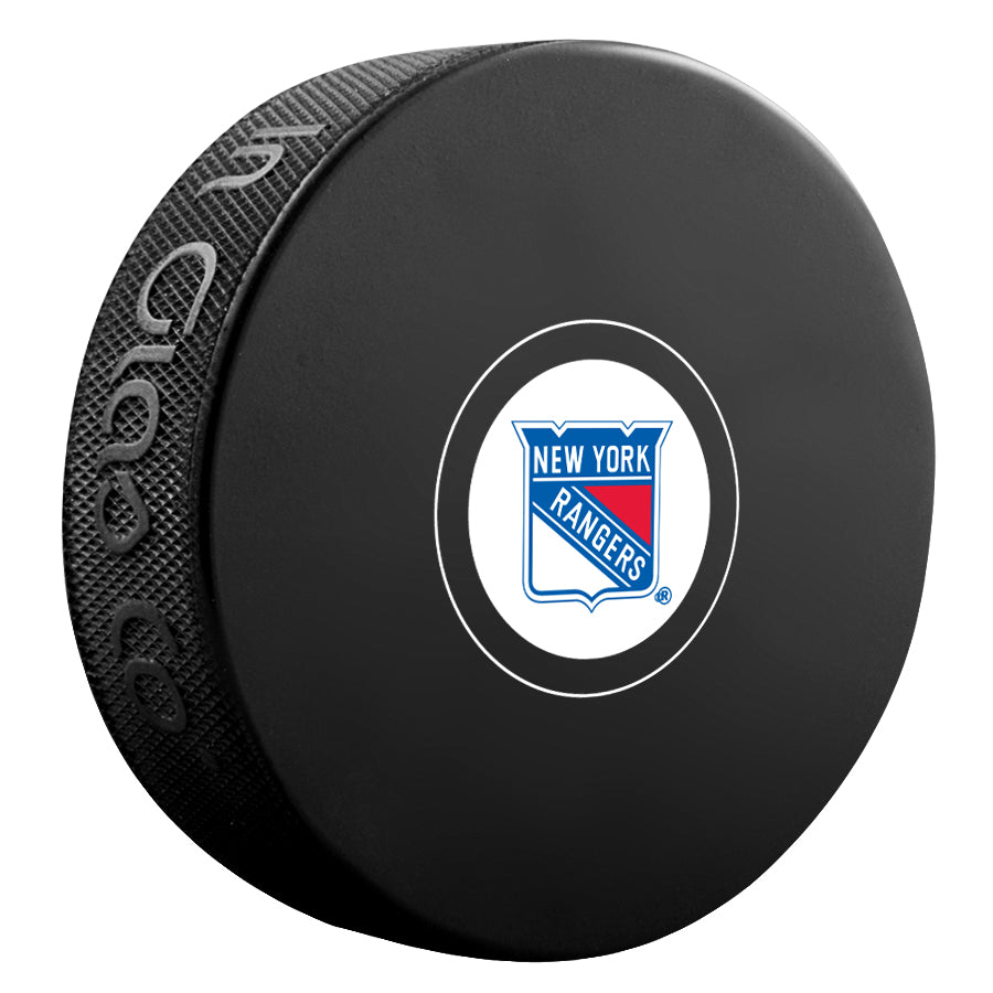 New York Rangers Unsigned Puck