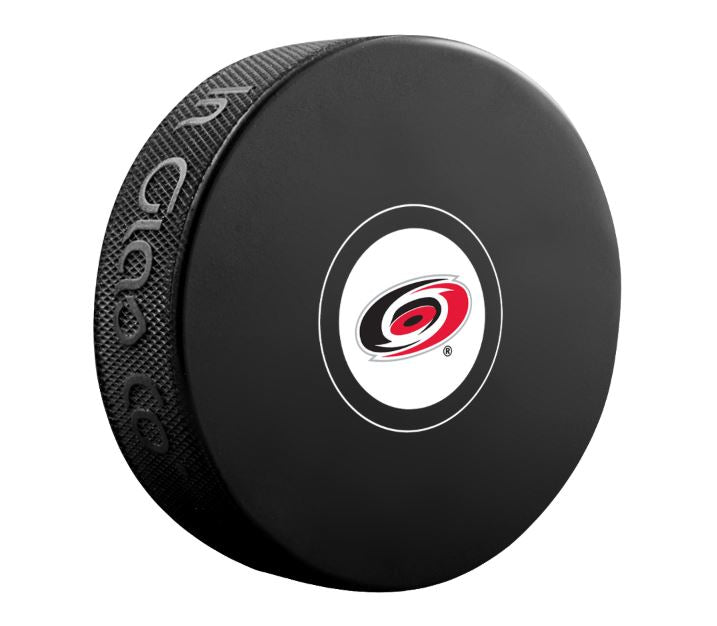 Carolina Hurricanes Unsigned Puck