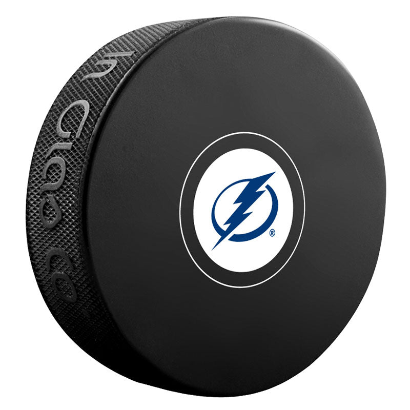 Tampa Bay Lightning Unsigned Puck