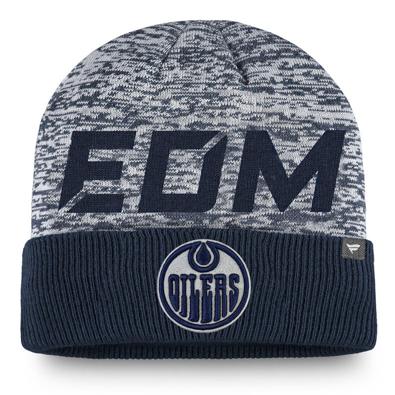 Edmonton Oilers Authentic Pro Clutch Cuffed Beanie