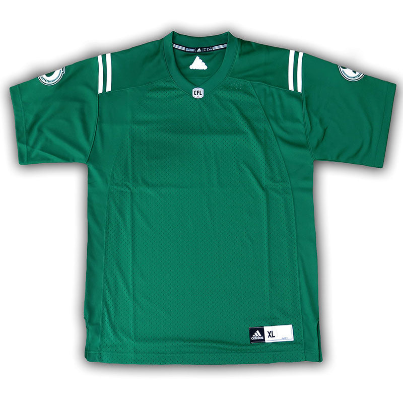 Saskatchewan Roughriders Retro Green Replica Jersey