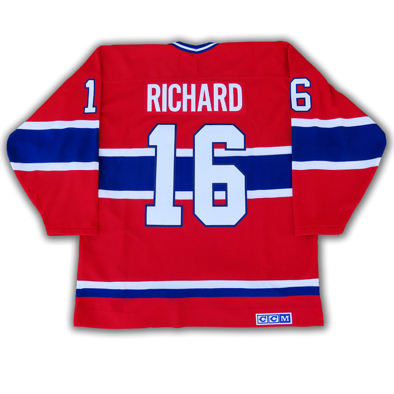 watch c8764 a9d3d Henri Richard Montreal Canadiens CCM Replica Jersey
