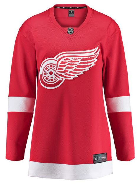 Women's Detroit Red Wings Breakaway Replica Home Jersey