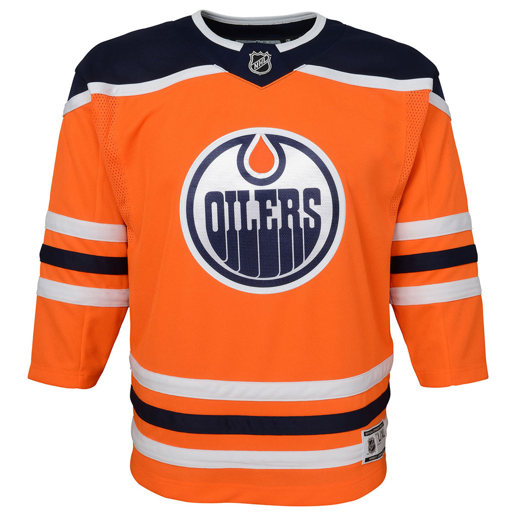 Edmonton Oilers Youth Home Replica Jersey