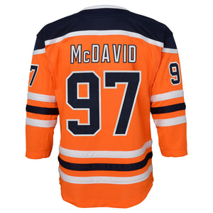 Connor McDavid Edmonton Oilers Youth Home Replica Jersey
