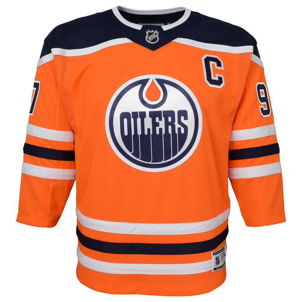Connor McDavid Edmonton Oilers Toddler Home Replica Jersey