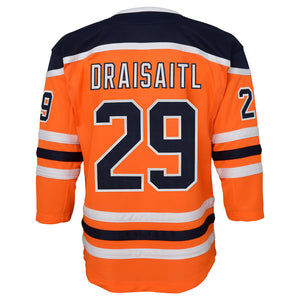 Leon Draisaitl Edmonton Oilers Youth Home Replica Jersey